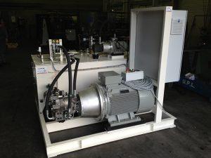 Centrale hydraulique 75 kW, 220 bars, 150 L min