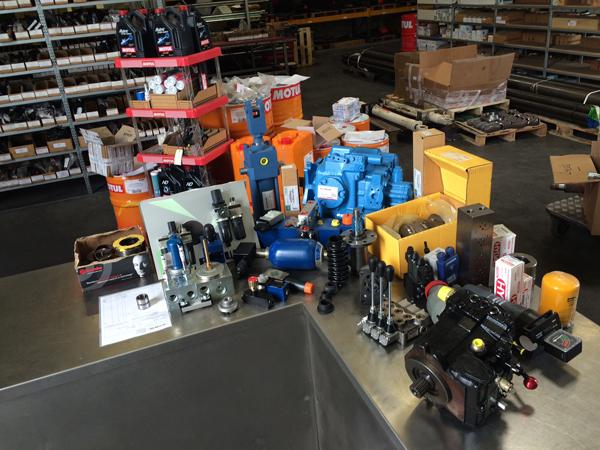 Composants hydrauliques