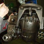 Réglages de pompe hydraulique