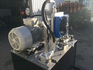 centrale hydraulique g