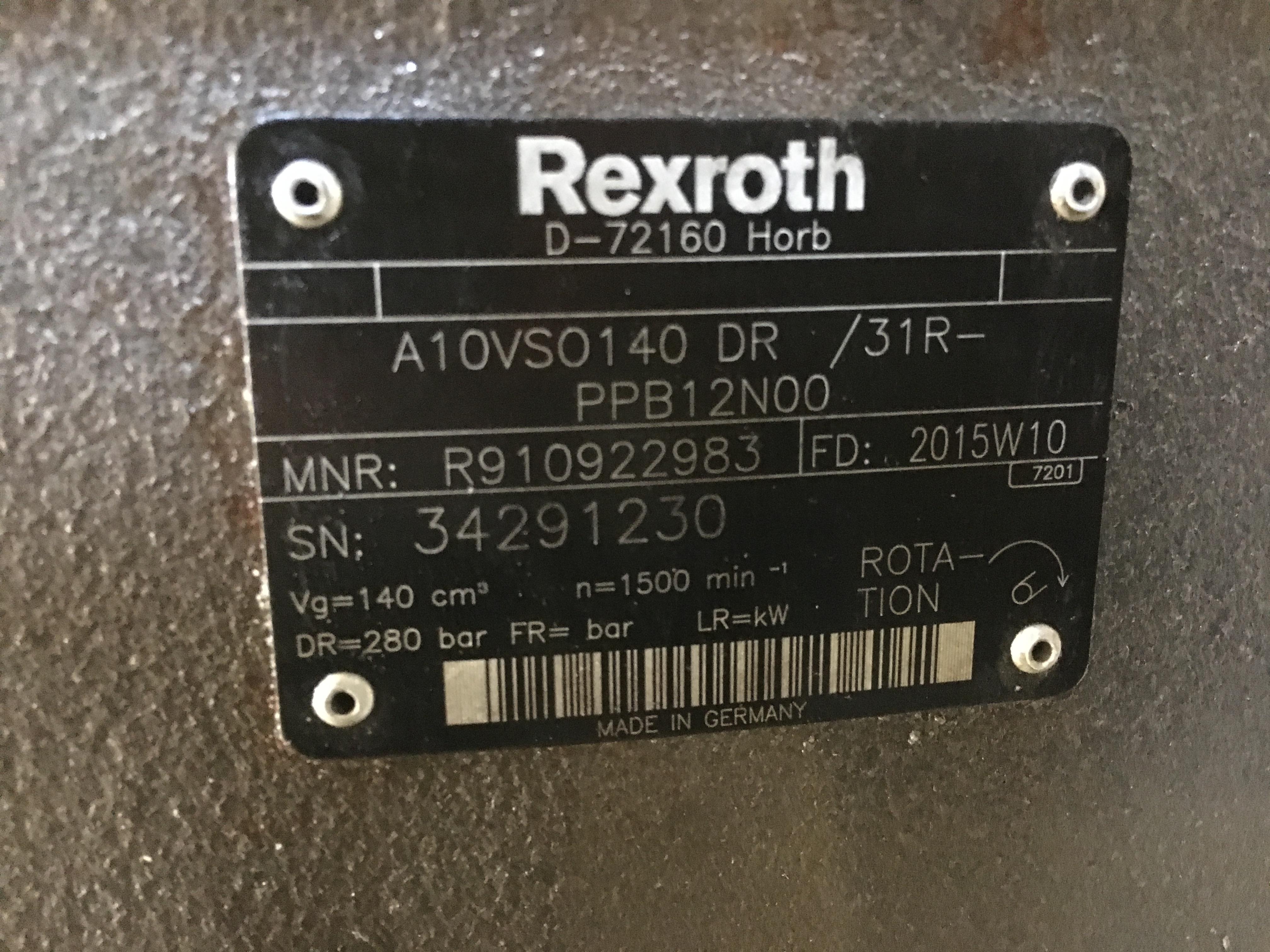 ref-pompe-hydraulique-rexroth-a10vso140dr