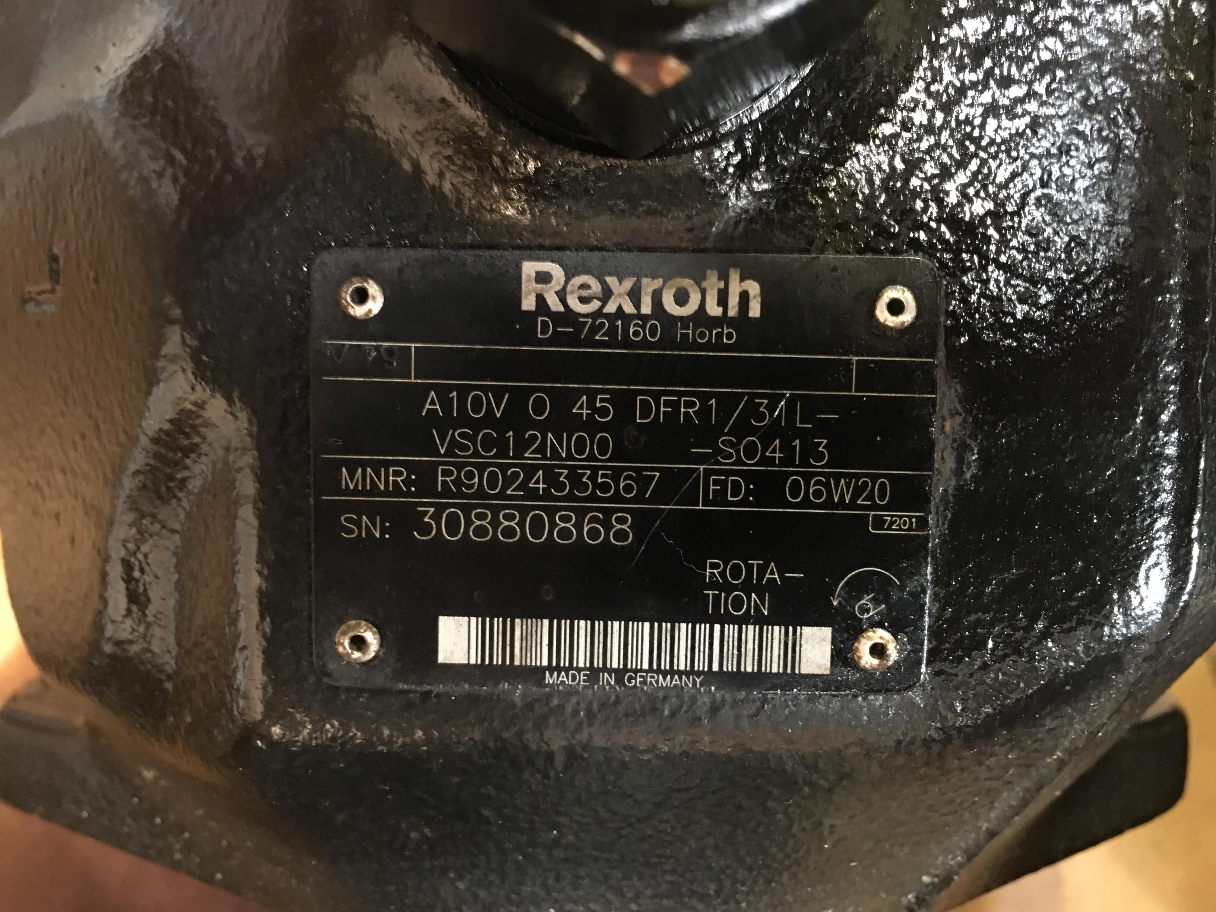 ref-pompe-hydraulique-rexroth-a10vo45dfr1
